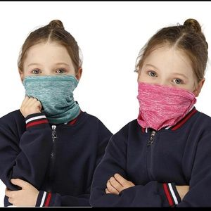 Two pack neck gaiters face mask